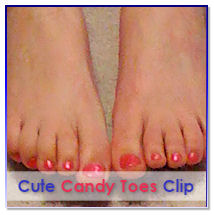 Candy Toes Clip